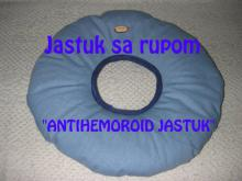 Antihemoroid jastuk sa rupom