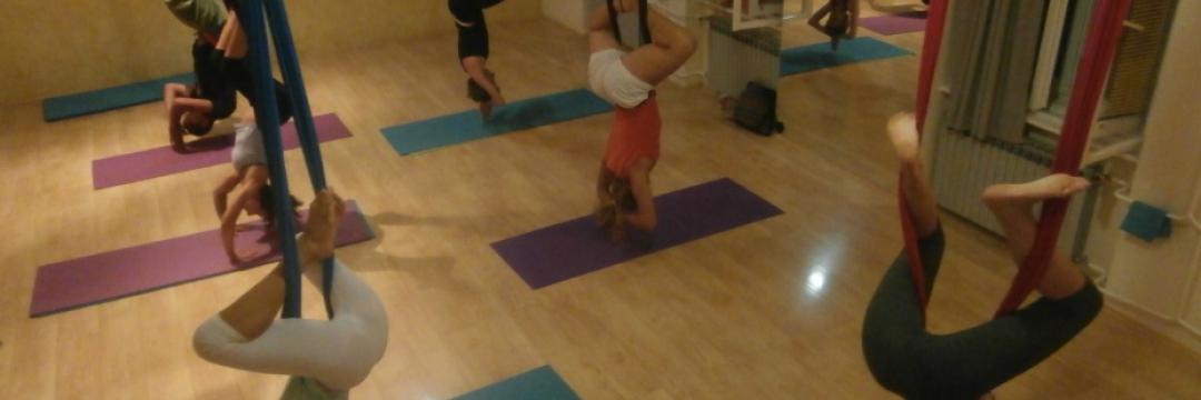 Lebdeća joga, Antigravity, Aerial yoga