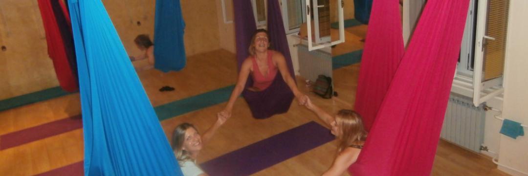 Prvi Kurs lebdeće joge u Jugoistočnoj Evropi